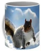 Snow Squirrel Coffee Mug