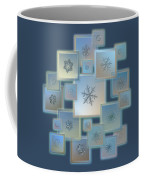 Snowflake Collage - Bright Crystals 2012-2014 Coffee Mug