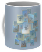 Snowflake Collage - Bright Crystals 2012-2014 Coffee Mug by Alexey Kljatov