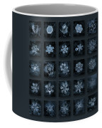 Snowflake Collage - Season 2013 Dark Crystals Coffee Mug
