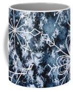 Snowflake Greetings Coffee Mug
