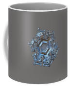 Snowflake Photo - Cold Metal Coffee Mug