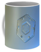 Snowflake Photo - Cryogenia Coffee Mug