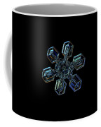 Snowflake Photo - High Voltage IIi Coffee Mug by Alexey Kljatov