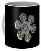 Snowflake Photo - Massive Gold Coffee Mug by Alexey Kljatov