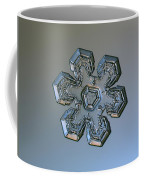 Snowflake Photo - Massive Silver Coffee Mug