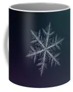 Snowflake Photo - Neon Coffee Mug