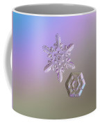 Snowflake Photo - Two Hearts Coffee Mug