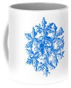 Snowflake Vector - Gardener's Dream White Version Coffee Mug by Alexey Kljatov