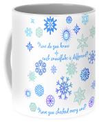 Snowflakes 2 Coffee Mug