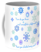Snowflakes 2 Coffee Mug