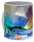 Snowing All Over Spain Coffee Mug
