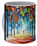 Snowing Alley Coffee Mug