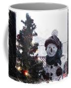 Snowman And Tree Pa Coffee Mug
