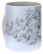 Snowmen In France Coffee Mug