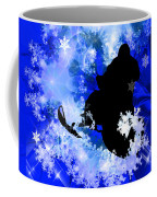 Snowmobiling In The Avalanche  Coffee Mug
