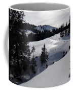 Snowshoeing Switzerland's La Berra Coffee Mug