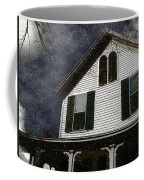 Snowstorm In From The Sound Coffee Mug