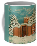 Snowstorm In Santa Fe Coffee Mug