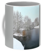 Chilled Scenery Around Frozen Canals Coffee Mug