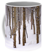 Snowy Aspen Coffee Mug