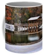 Snowy Bridge Coffee Mug