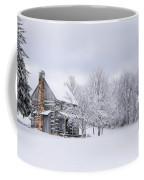 Snowy Cabin Coffee Mug by Benanne Stiens