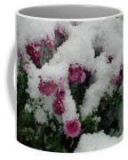 Snowy Chrysanthemums Coffee Mug