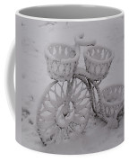 Snowy Cycle Wheel Coffee Mug