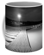 Snowy Dock Coffee Mug
