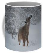 Snowy Doe Coffee Mug
