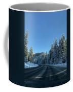 Snowy Drive Coffee Mug