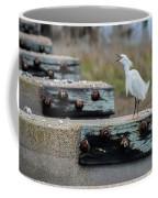 Snowy Egret #2 Coffee Mug
