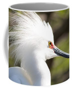 Snowy Egret Closeup Coffee Mug