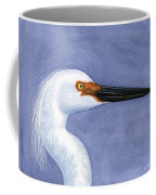 Snowy Egret Portrait Coffee Mug