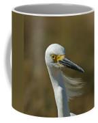 Snowy Egret Profile 2 Coffee Mug