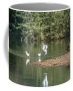 Snowy Egret Stretch 4280-080917-1 Coffee Mug