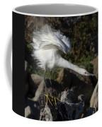Snowy Egret Stretch Coffee Mug