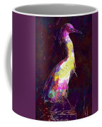 Snowy Egret Waterfowl Bird Large  Coffee Mug