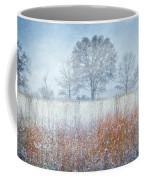 Snowy Field 2 - Winter At Retzer Nature Center  Coffee Mug