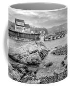Snowy Fogged In Cove Coffee Mug