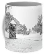 Snowy Gates Of Chisolm Island Coffee Mug
