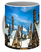 Snowy Hogsmeade Village Rooftops Coffee Mug