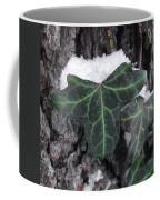 Snowy Ivy Coffee Mug