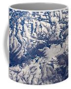 Snowy Landscape Aerial Coffee Mug