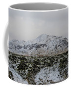 Snowy Lava Fields Iceland Coffee Mug