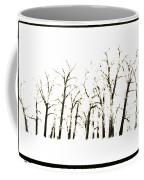 Snowy Line Up Coffee Mug