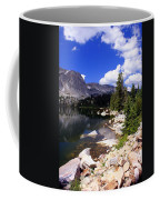 Snowy Mountain Lake Coffee Mug