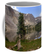 Snowy Mountain Loop 1 Coffee Mug
