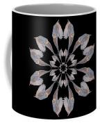 Snowy Owl Snowflake Coffee Mug